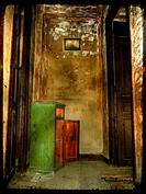 The interior of a hallway