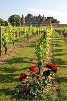 Chateau de Monbazillac near Bergerac  Dordogne  France