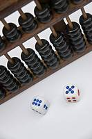 Abacus and dice