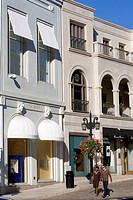 United States, California, Los Angeles, Beverly Hills, Rodeo Drive, Via Rodeo, shops