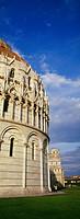 Piazza dei Miracoli and Baptistery, Pisa, Tuscany, Italy