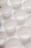 Close_up of cupcake molds