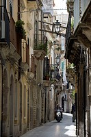 Italy, Sicily, Ortigia Peninsula, Syracusa, listed as World Heritage by UNESCO, old historical center