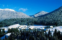 France, Isere, village of Cherlieu in the Chartreuse natural Regional Park
