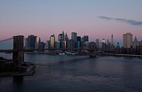 New York City _ view from Manhattan Bridge
