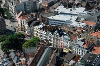 Roof of the Galeries Royales Saint-Hubert, Brussels, Belgium