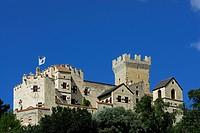 castle of Churgburg, Schluderns, Vinschgau, South Tyrol, Alta Badia, Italy