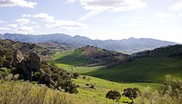 View of Andalusia Spain.