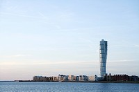 Turning Torso Malmo Skane Sweden.