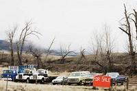 Vehicles for sale, Virginia City, Madison County, Montana, USA