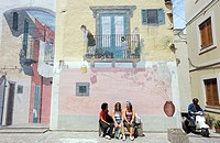 City of Marina Corta, island of Lipari. Aeolian Islands, ITALY