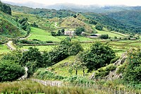 The Snowdonia area. Wales, great britain
