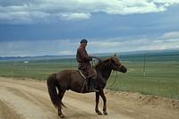 mongolia, surrounding of ulan bataar