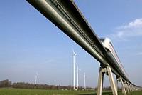 Transrapid test track, Lathen, Germany