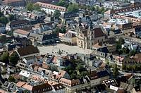 Ludwigsburg, Germany, Aerial View