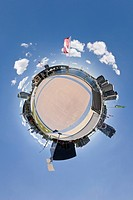 spheregraphy Image, spherical panorama of 360degrees in every directio
