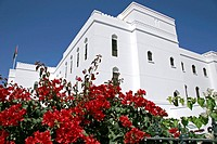Oman white building in Muscat