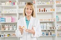 Female pharmactist portrait