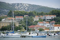 Croatia, Island Rab,City of Rab, Port