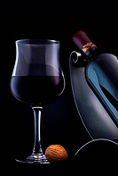 Quality red wine