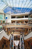 Bull Ring Shopping Center, Birmingham, West Midlands, England, UK