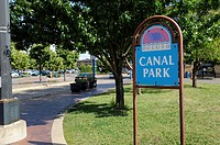 Canal Park area of Downtown area of Duluth Minnesota