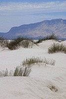 Sand dunes in a desert, White Sands National Monument, New Mexico, USA