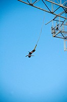 bungy jumping in Bali Indonesia