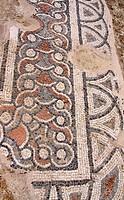 Ancient church with a mosaic floor, Hersonissos, Limín Chersonisou, Crete, Greece, Europe