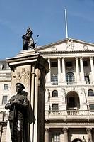 War memorial at Bank of England, London, England, UK