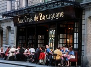 Restaurant, Montorgueil, Paris, France