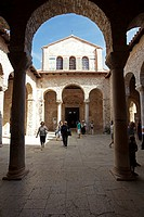Euphrasian Basilica, UNESCO World Heritage Site, Porec, Croatia, Europe