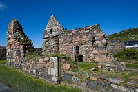 Old Nunnery, Iona, Scotland, United Kingdom, Europe