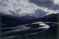Photograph of a river in Alaska