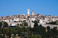 Buildings in a town, Saint_Paul_De_Vence, Alpes_Maritimes, Provence_Alpes_Cote d´Azur, France