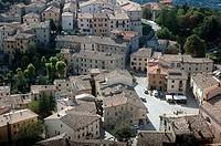 Pennabilli (Rimini, Italy), the old town