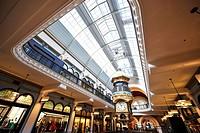 Royal Clock, arcades, boutiques, QVB, Queen Victoria Building, shopping centre, Sydney, New South Wales, Australia