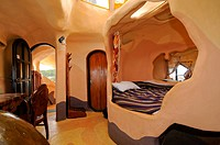 Guest rooms at the Crazy House Hotel, Hang Nga Guesthouse, Dalat, Central Highlands, Vietnam, Asia