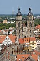 Parish church, Lutherstadt Wittenberg, Saxony-Anhalt, Germany, Europe