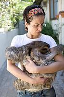 Person, Animal, Become Wormy Laziness, Cotia, São Paulo, Brazil