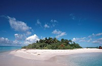 Island Kanuhura of the Maledives