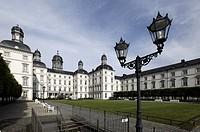 Schloss Bensberg palace, Grand Hotel, Bergisch Gladbach, Rhineland, North Rhine-Westphalia, Germany, Europe