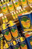 Olive oil, oil, Alziari shop, specialty, Nice, Cote d'Azur, France
