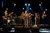 German band Mardi Gras BB., live at the Schueuer, Lucerne, Switzerland