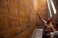 Luxor Temple. Luxor. Nile Valley. Egypt