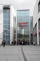 Altmarktgalerie shopping mall, Dresden, Saxony, Germany, Europe
