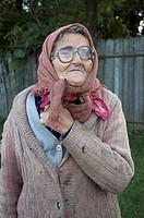 portrait of an old woman, Moldova