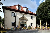 Historic armory, Stade, Lower Saxony, Germany, Europe