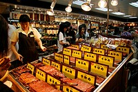 Dried meat specialities, Macau, China, Asia