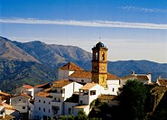 Church in Algatocin town, Andalucia, Spain